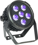 LED PAR64 DMX WITH LITHIUM RECHARG.BATTERY